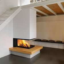 Image result for triple sides fireplaces