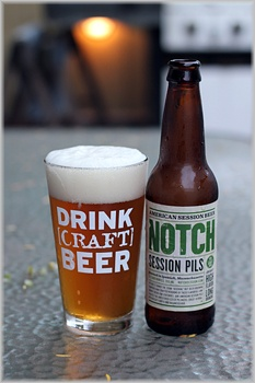 Love the Notch Session Ale...need to try this Session Pils and of course I'll put it in my great #DrinkCraftBeer pint glass!