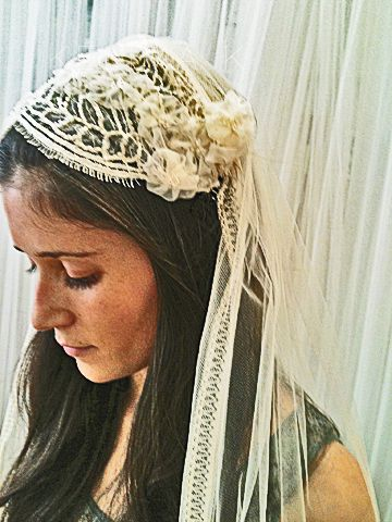 bridal veils made in France | Juliet, Caps, Veil, lace trimmed veils, fairytale veils