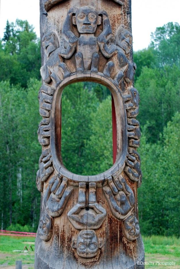 Best wood carving totem poles images on pinterest