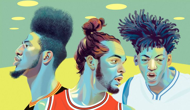 Mohawks to 'frohawks, fades to braids. Dreadlocks, dyes, twists, parts, and something in the NBA Finals that came close to a conk. Peak hair expression has hit black America, with pro basketb…