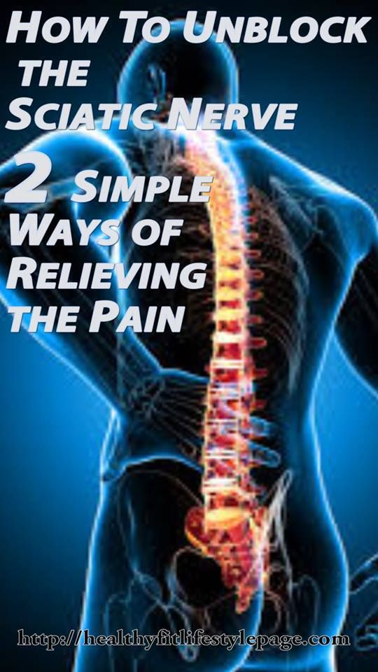 How To Unblock the Sciatic Nerve: 2 Simple Ways of Relieving the Pain
