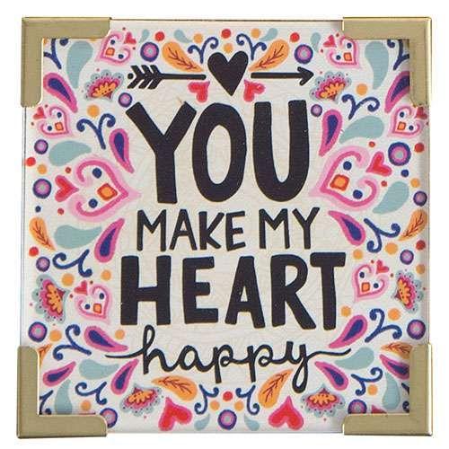 Natural Life Μαγνητάκι «Heart Happy»