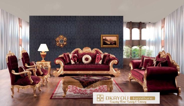 Set Sofa Ruang Tamu Mewah Jackson