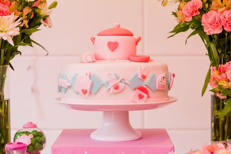 Resultado de imagem para decoração de festa aniversário  chef de  cozinha