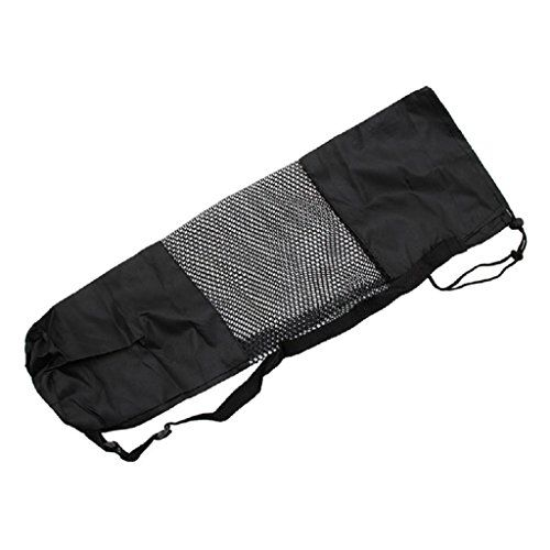 SCASTOE Adjustable Strap Nylon Mat Bag Carrier Mesh For Yoga Gym Fitness Exercise Sports -- Continue to the product at the image link.