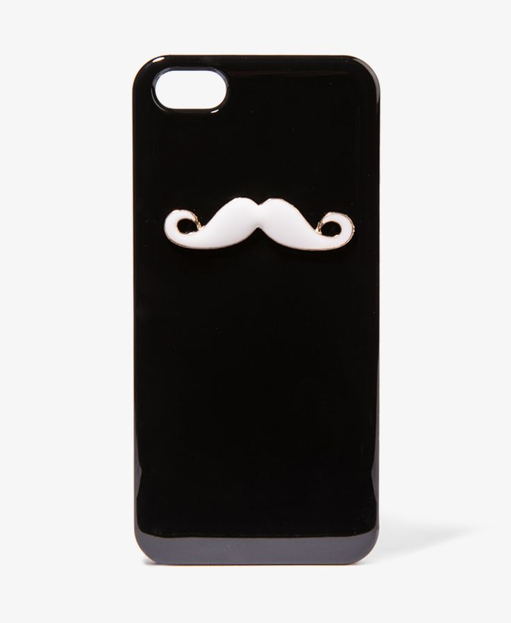 Mustache IPhone Case I just got the IPhone 5, so im looking for a new one.