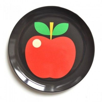 Melamine Plate – Apple http://littlebentoworld.com/shop/breakfast/melamine-plate-apple/