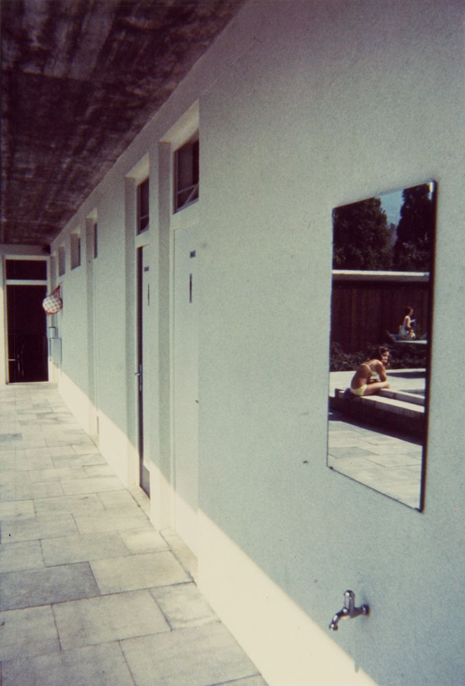 Luigi Ghirri, Hergiswill, 1971, from series Kodachrome