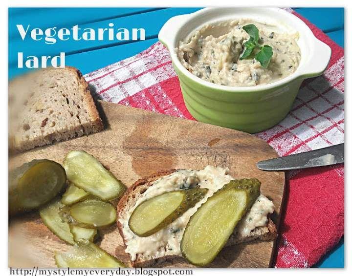 Wegetariański smalec z oregano – Vegetarian lard