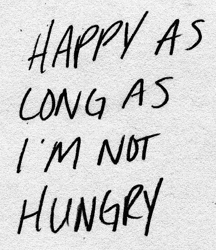 I'm sorry for what I said when I was hangry...