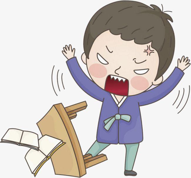 الفتى الغاضب Clipart Boy Cartoon Character