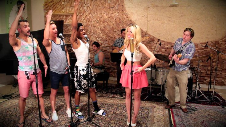 Barbie Girl - Vintage Beach Boys - Style Aqua Cover ft. Morgan James https://www.youtube.com/watch?v=4ReSV3CCRzg