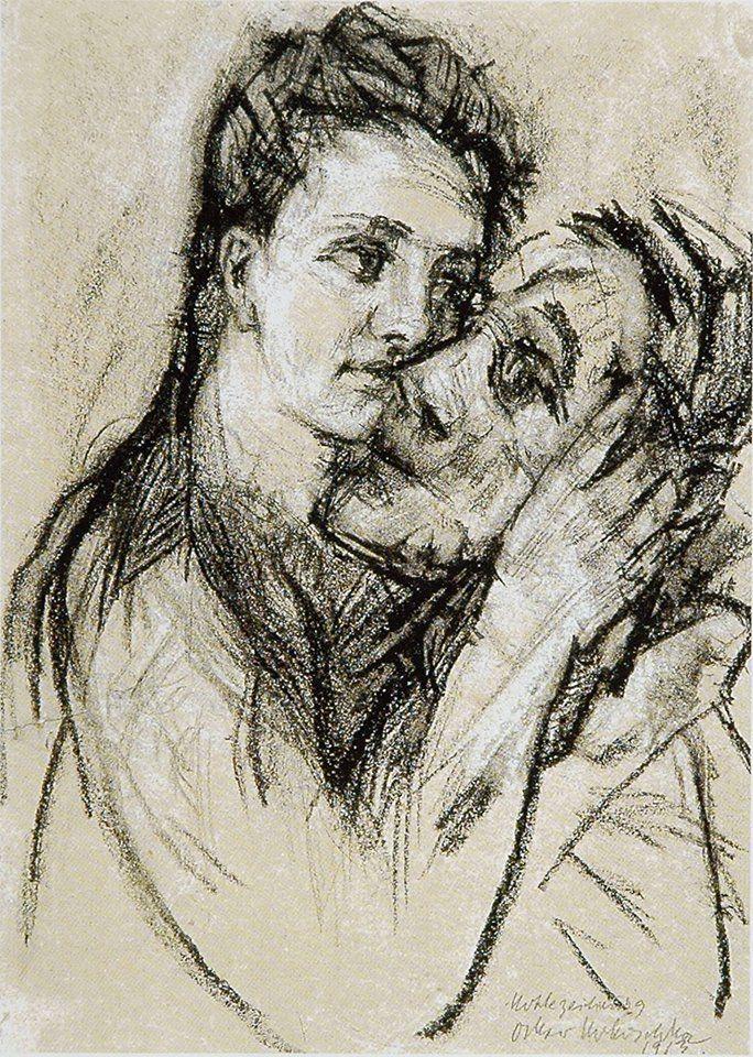 Oskar Kokoschka, Alma Mahler und Oskar Kokoschka, 1913, Leopold Museum, Wien