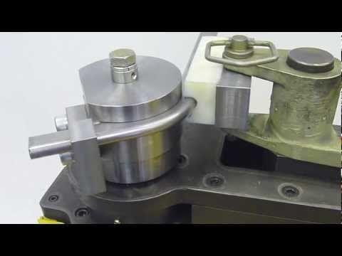 Baileigh Industrial RDB-250 Tube/Pipe bender  - bending flat side oval - YouTube