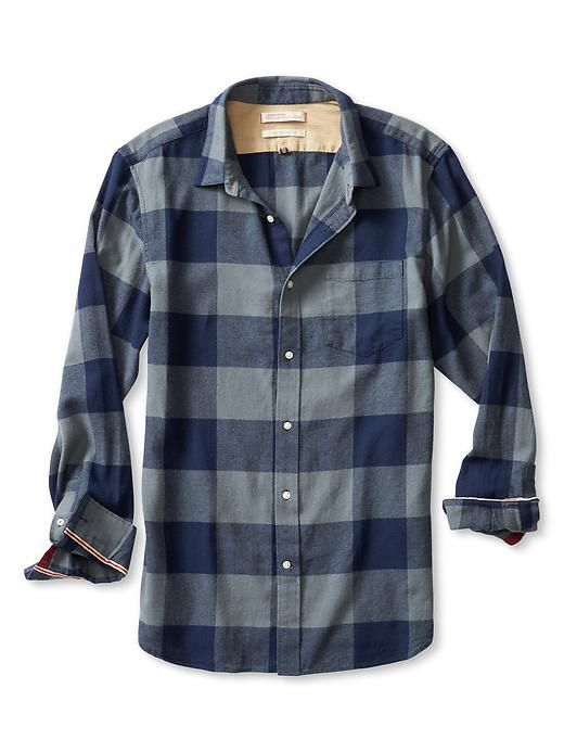 Gap Mens Flannel Shirts