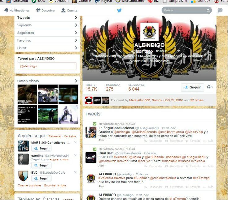 Campañas de Prensa y Redes Sociales @Aleindigo 2010-2012