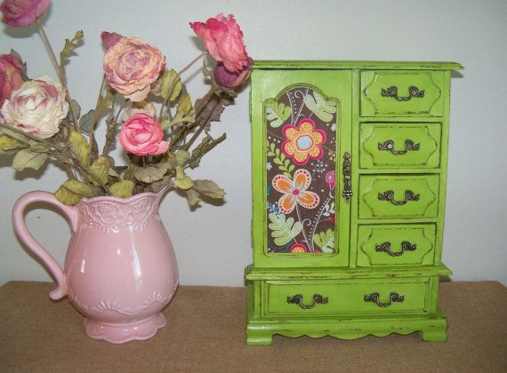 70 best Craft Chalk Paint Jewelry Boxes images on Pinterest