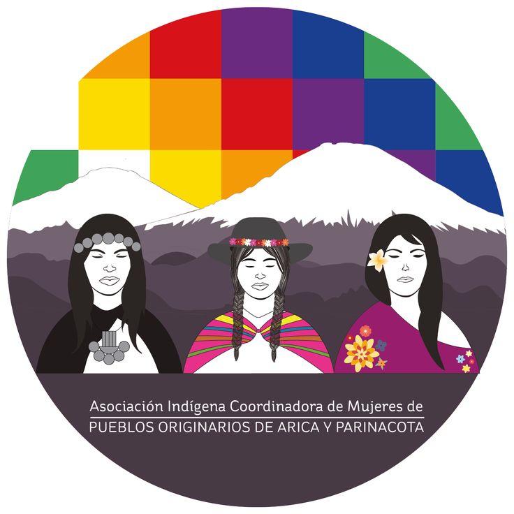 Logotipo para agrupación de mujeres indígenas. Año: 2014