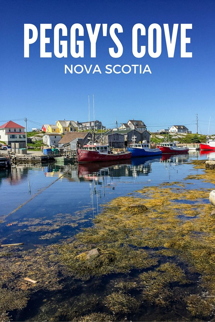 Peggy's Cove, Nova Scotia, Canada. Learn about this gorgeous village and it's famous lighthouse!