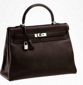 Borsa Kelly Hermès, black