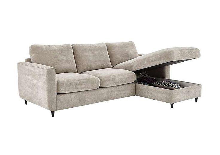 Esprit Fabric Corner Chaise with Storage £799
