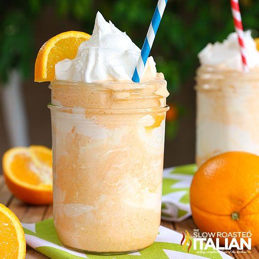 Dreamy Orange Creamsicle Shake - http://theslowroasteditalian ...