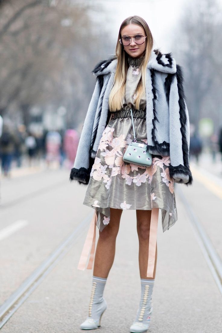The Best Street Style Looks From Milan Fashion Week Fall 2017 - Fashionista