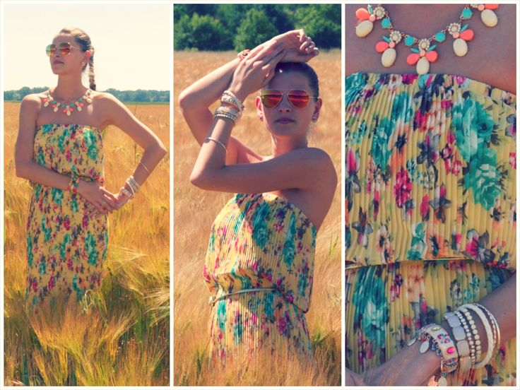 úžasné letní šaty NELL