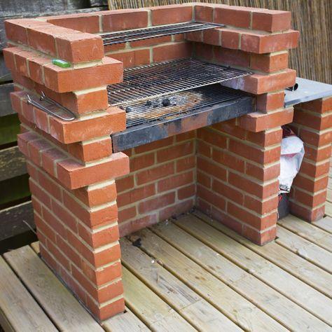 les 25 meilleures id es de la cat gorie barbecue en brique sur pinterest construire un. Black Bedroom Furniture Sets. Home Design Ideas