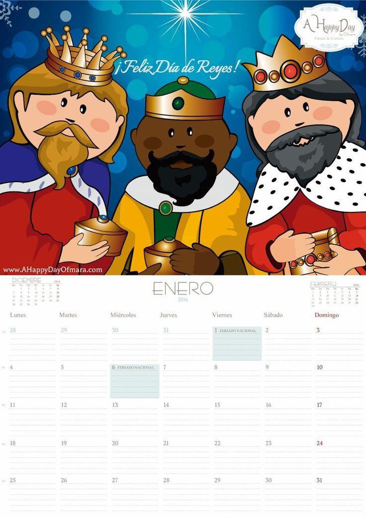 """Os dejamos nuestro calendario mensual """"Enero 2016"""" descargable totalmente """"Gratis"""" y listo para imprimir. ¡Esperamos que os sea de mucha utilidad! Para descargarlo, sigue las siguientes instrucciones: 1. Haz clic aquí. 2. Se abrirá un enlace de MediaFire, dondepodrás realizarla descarga. ¡Ten un poco de paciencia y espera a que se cargue el archivo! 3.…"""