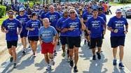 The  Special Olympics  torch reaches  Palm Beach County  Wednesday morning. Local police and state and federal law enforcement officers will run with the torch in a 3.4-mile relay that starts at 9:30 a.m. at Hypoluxo Road and US 1.