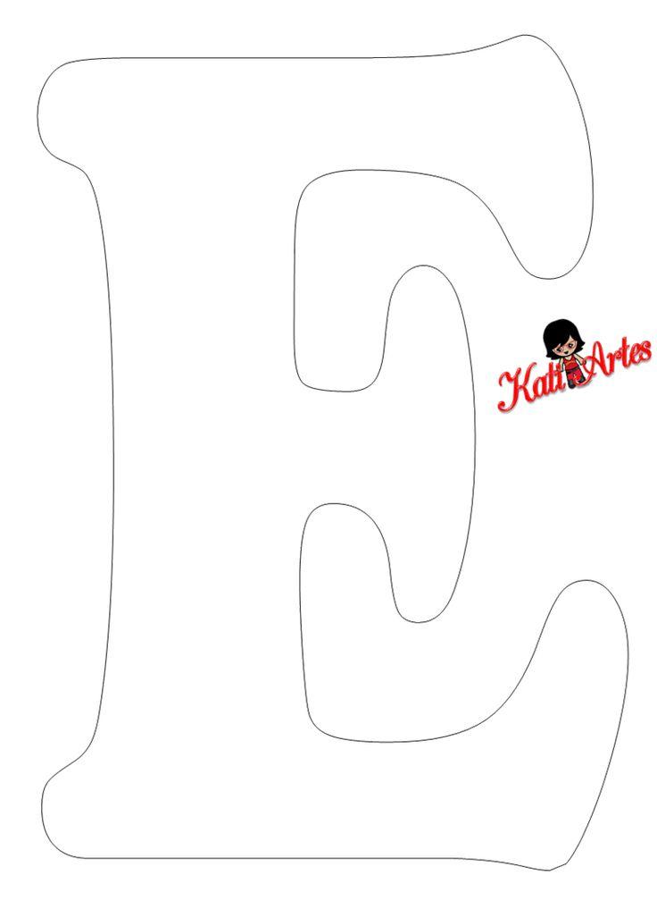 25 melhores ideias sobre molde de letras grandes no pinterest letras grandes letra r - Figuras decorativas grandes ...