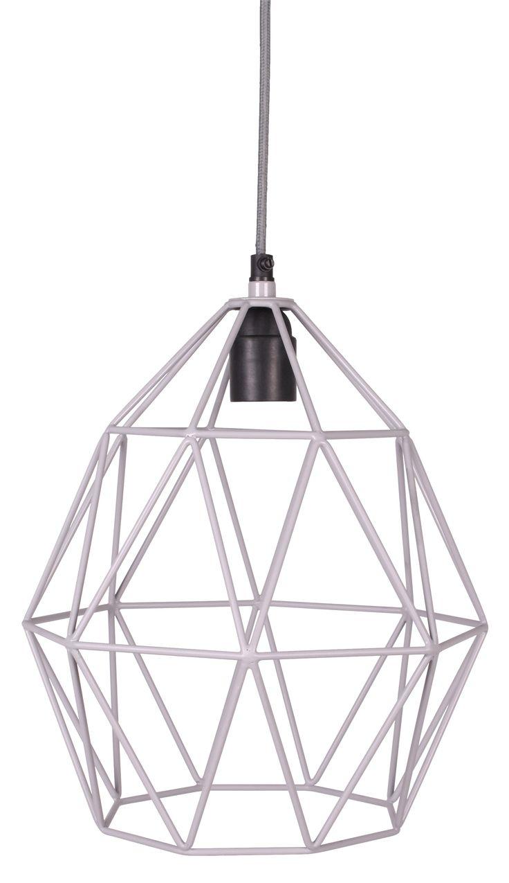 Kidsdepot Wire grey lamp