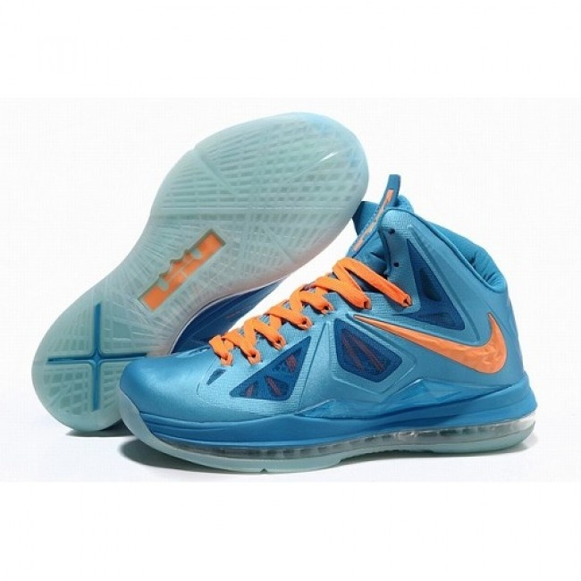 Recommend Nike Air Max LeBron James 10 X Men Laser Blue Basketball Shoes  $73.5 http: