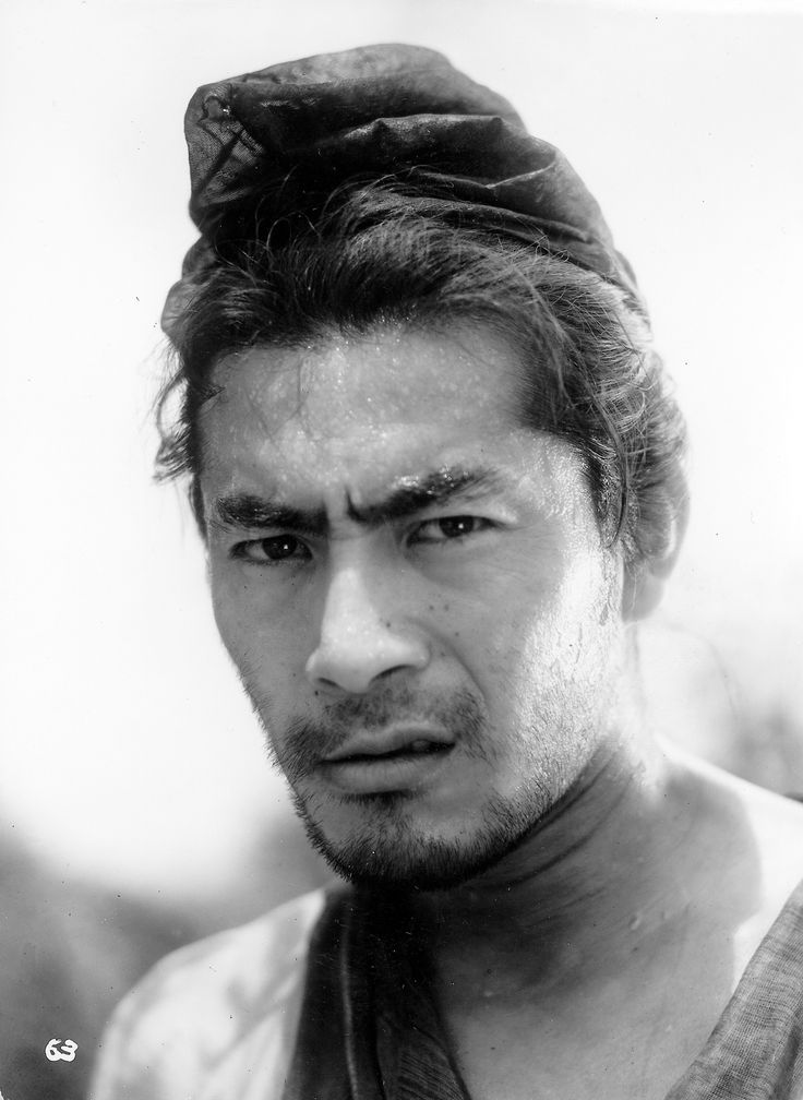 "1950 - Place 7 - Toshiro Mifune in ""Rashomon"""