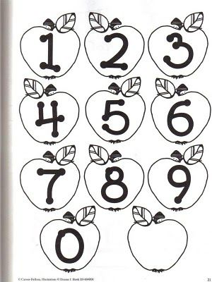 ENLARGE THESE NUMBER FLASHCARDS TO MAKE GAMES & ACTIVITIES