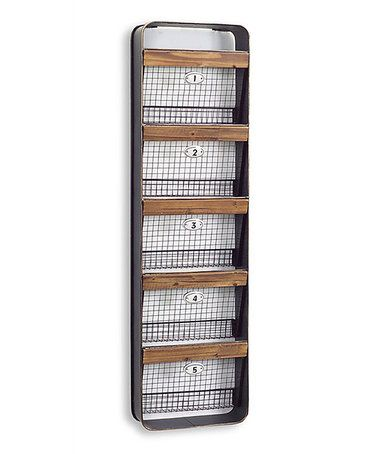 Look what I found on #zulily! Large Basket Wall Hanger #zulilyfinds