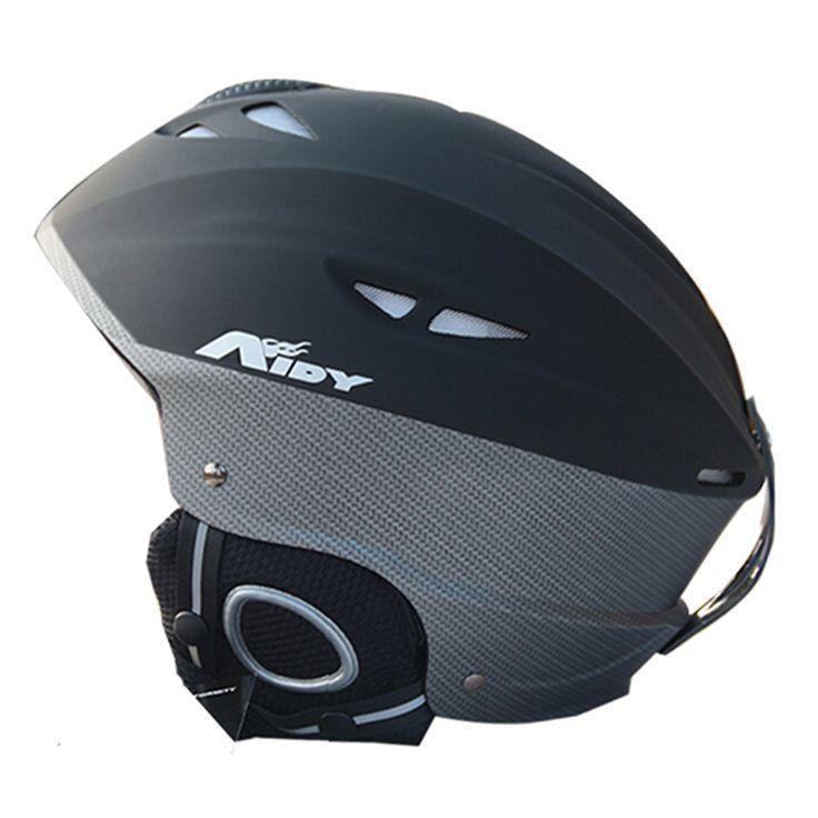Ski Helmet CE Certification Winter Snow Skiing Snowboard Skateboard Helmet ABS/PC+EPS 55-61CM 9 Colors