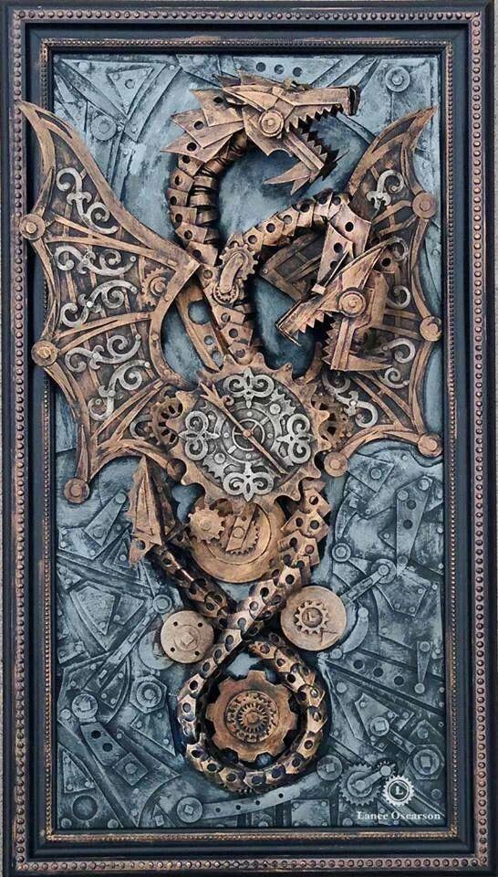 Steampunk Dragon by Lance Oscarson