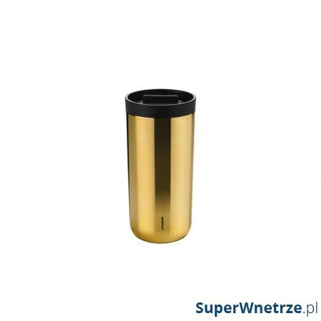 Kubek termiczny 400 ml Stelton To Go mosiądz 566-21