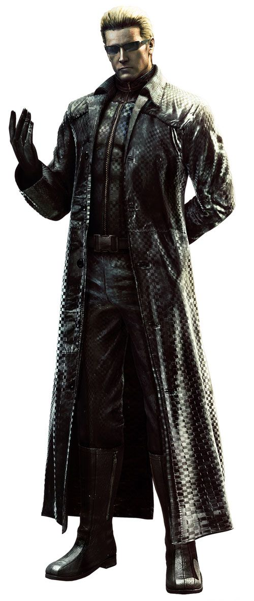 Albert Wesker, from Resident Evil. The greatest video game villain of all-time? I'd say so.