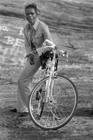 Cicely Tyson, Central Park, New York City, 1973