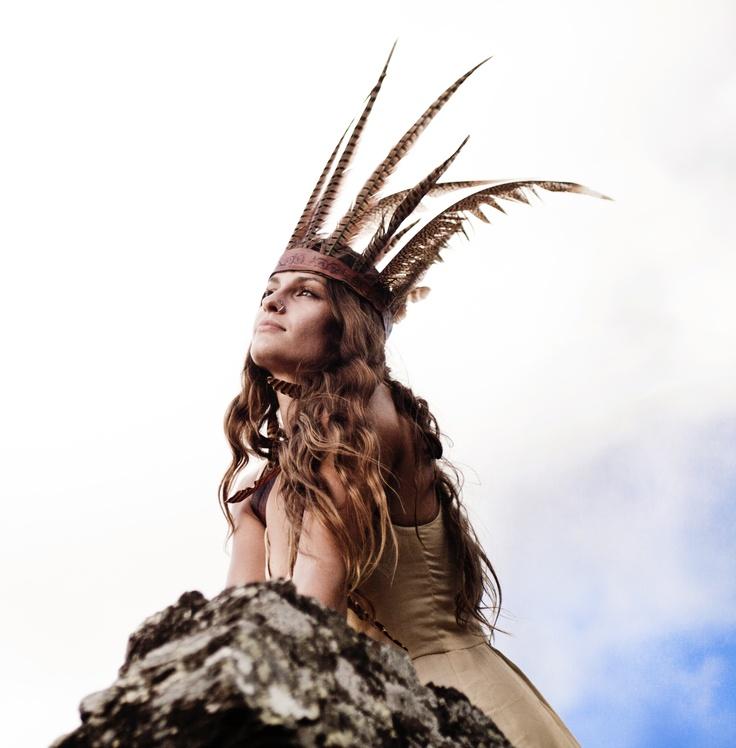 indian spirit, ocean breeze | Beck Rocchi | #bohemian #boho #hippie #gypsy: Hippiebohemian, Indian Summer, Indian Spirit, Costumesthem Outfits, Ocean Breeze, Blue Moon, Feathers, Photography, Formal Hair