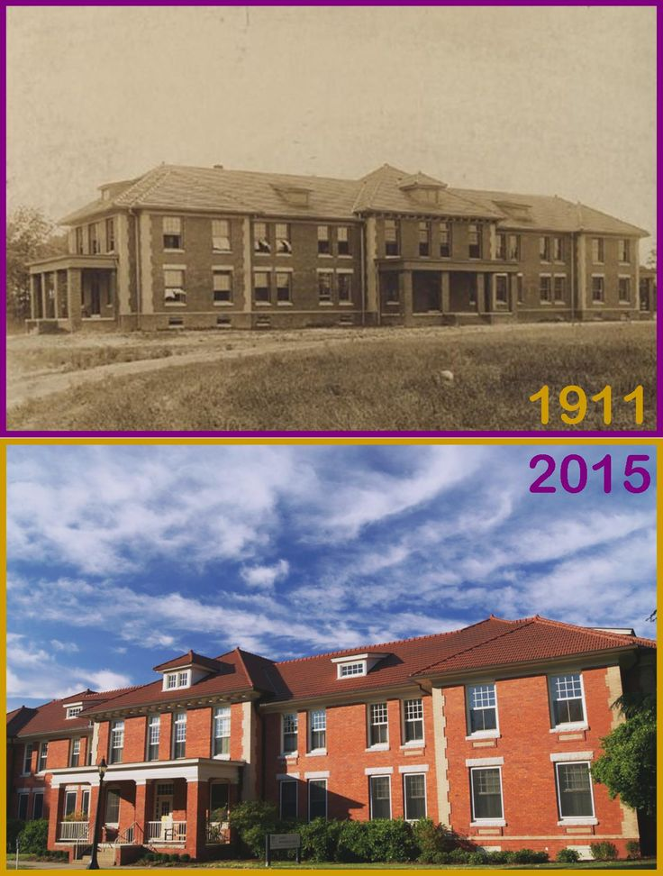 Jarvis Hall as seen in 1911 and today. Opened in 1909, Jarvis Dormitory was originally constructed to serve as a male dormitory,  and today still serves its original purpose as a home for students. Discover more about ECU's growth in Digital Collections' Buildings Upon the Past. #TransformationTuesday