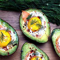 Smoked Salmon Egg Stuffed Avocados | Grok Grub - Paleo Recipes and Living