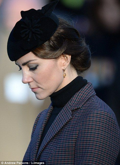 Kate looks somber as she remembers those who lost their lives during the disastrous campaign