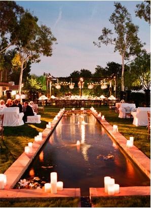 LOVE romantic lighting, beautiful nature, and water
