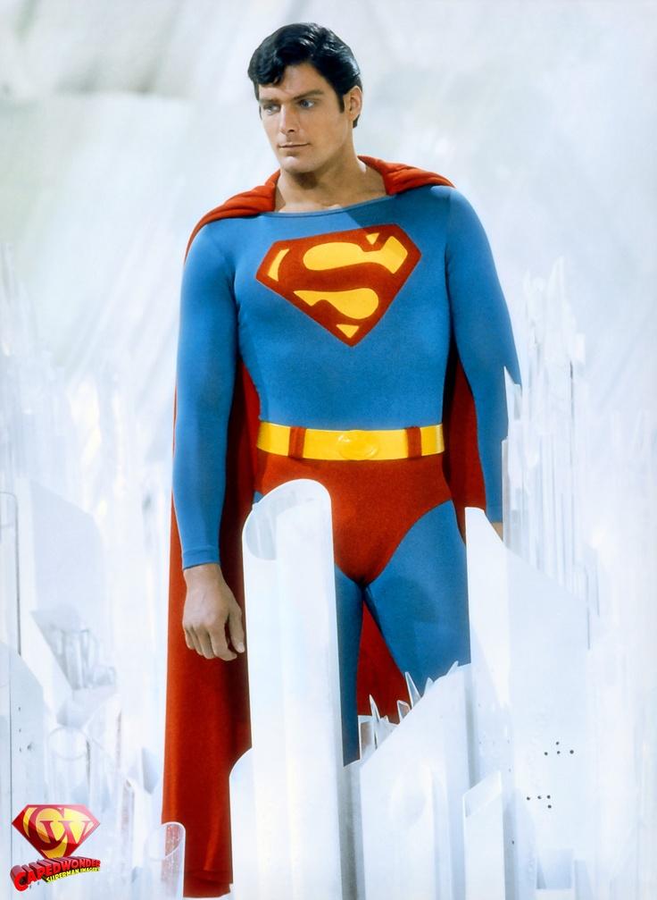 Superman II portrait in the Fortress of Solitude.