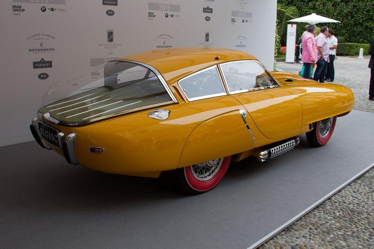 Pegaso Z102 BS 2.5 Cupula Coupe (Chassis 0102 150 0121 - 2015 Concorso d'Eleganza Villa d'Este) High Resolution Image